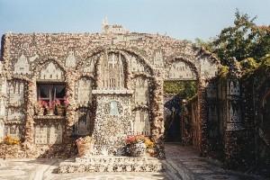 Maison Picassiette, Raymand Isidore (Frankrijk, Chartres) [Foto: Eric Denig]