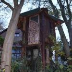 Bijzondere boomhut (Brussel-Be, Oudergem) [Foto: Hetty Wilming]
