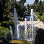 Fontein van Neptunus, tuinen Villa d'Este, (Italië, Tivoli) [Foto: Eric Denig]