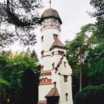 Watertoren, Friedhof Ohlsdorf (Duitsland, Hamburg) [Foto: Joop van der Vaart]