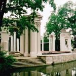 Romeins Amfitheater, Lazienki Park (Polen, Warschau) [Foto: Joop van der Vaart]