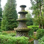 Corkscrew Fountain, park Alton Towers (Engeland, Staffordshire, Alton) [Foto: Laurens Wilming]