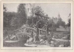 Rustiek houten brug - Instituut Voigt [collectie Jan Holwerda]