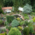 Gezicht op Ampies tuin, Ampies Berg (Gelderland, 't Harde) [Foto: Dianne Hamer]
