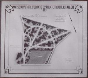 Ontwerp uit 1903 villapark 't Loo (Noord-Holland, Blaricum) [Coll. Jan Holwerda]