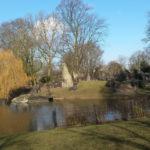 Eiland met rotswerk, Julianapark (Utrecht, Utrecht) [Foto: Lenneke Berkhout]