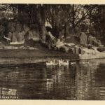 Rotspartij en kleine vijver, Julianapark 1943 (Utrecht, Utrecht)
