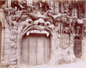 Ingang Cabaret de L'Enfer (Frankrijk, Parijs)