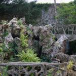 Cementrustiek in de tuin van Moët & Chandon (Frankrijk, Epernay)