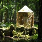 Ruina-coreto kiosk, Parque Lage (Brazilië, Rio de Janeiro)