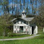Bijenhotel bij Bauernhausmuseum (Duitsland, Amerang)