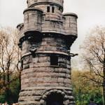 Toren van Doornik, Jubelpark (Brussel Hoofdstedelijk Gewest, Brussel) [Foto: Hetty Wilming]
