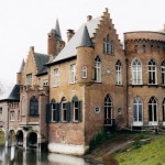 Kasteel Wissekerke (Oost-Vlaanderen-Be, Bazel) [Foto: Hetty Wilming]