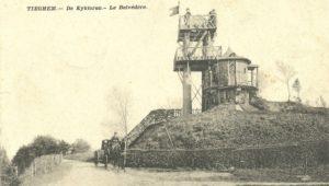 Belvédère of Kijktoren te Tiegem (West-Vlaanderen-Be, Anzegem)