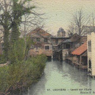 Lavoir sur L'Eure (Frankrijk, Louviers)