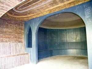 Plafond hermitage Vijversburg (Friesland, Tietjerksteradeel) [Foto: Hetty Wilming]