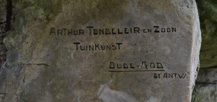 Handtekening Tondeleir, Domein Groenhof (Oost-Vlaanderen, Sint-Niklaas)