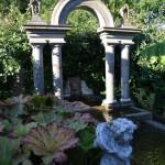 Italiaanse tuin, Chris Goedhart (Noord-Holland, Hoogwoud) [Foto: Hetty Wilming]