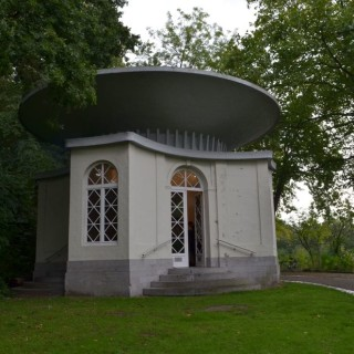 Restant van de pagode, Boekenbergpark (Antwerpen-Be, Deurne)