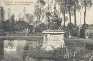 St Arnoldus Krygsman, Tiegem (West-Vlaanderen-Be, Anzegem)