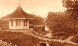 Theekoepel van Aelst in oude staat (Utrecht, Oudewater) [bron: W. van der Heiden]