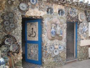 Toilet van het porseleinen huis (China, Tianjin)