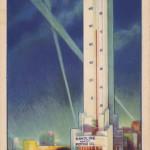 Havoline Thermometer 1933, Chicago (USA, Illinois) [Coll. Anton Nuijten]