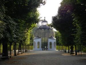 Volière, Schloss Schönbrunn (Oostenrijk, Wenen) [Foto: Hetty Wilming]