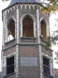 Toren, Kasteel De Bocht (Antwerpen-Be, Willebroek) [Foto: Hetty Wilming]