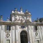 Vogelhuis, Casino dell'Uccelliera, park Villa Borghese (Italië, Rome) [Foto: Eric Denig]