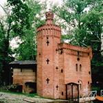 Pomphuis, Wilanów Park (Polen, Warschau) [Foto: Joop van der Vaart]