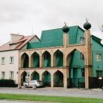 Moskee of woonhuis (Polen, Warschau) [Foto: Joop van der Vaart]