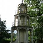 Gothic Tower, park Alton Towers (Engeland, Staffordshire, Alton) [Foto: Laurens Wilming]