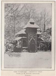 Rustiek prieel uit Algemeene naam- en prijslijst 1902 (Groenewegen en Zoon, De Bilt) [collectie Jan Holwerda]