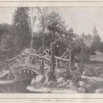 Rustiek houten brug - Instituut Voigt [Coll. Jan Holwerda]
