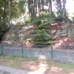 Een deel van de rotspartij, villapark 't Loo anno 2015 (Noord_Holland, Blaricum) [Foto: Jan Holwerda]
