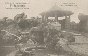 Rotstuin voorbeeld, atelier Firma Janssens, ca 1912 (België, St Niklaas) [Coll. Anton Nuijten]