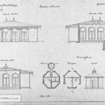 Ontwerp Bierhal station Baarn, 1871- '74 [Coll. Het Utrechts Archief]
