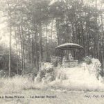 Le Rocher Bayard, Parc de Longchamps (Waals-Brabant-Be, Basse-Wavre),