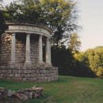Filosofen tempel, Parc Jean-Jacques Rousseau (Frankrijk, Ermenonville) [Foto: Hetty Wilming]