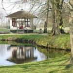 Theekoepel Vijversburg (Friesland, Tietjerksteradeel) [Foto: Hetty Wilming]