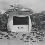 Ijspaddenstoel Rheden bij hotel De Roskam uit 1949 (Gelderland, Rheden) [Coll Jan Holwerda]