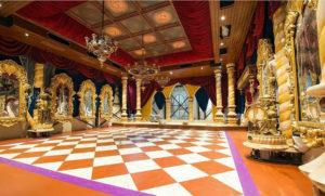 Koningszaal in Paleis der Fantasie (Noord-Brabant, Kaatsheuvel, Efteling)