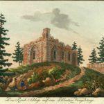 Kunstliche Ruine, Hilscher ca. 1800 (Duitsland, Pillnitz) [wikemedia commons]