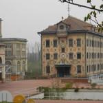 Het machinegebouw van Nestlé (Frankrijk, Noisiel) [Foto: Hetty Wilming]