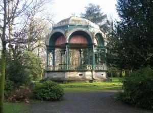 Muziekkiosk, Citadelpark (Oost-Vlaanderen-Be, Gent) [Foto: Hetty Wilming]