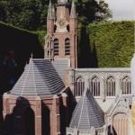 Kerk op schaal, Chris van der Sman (Zuid-Holland, Nootdorp) [Foto: Hetty Wilming]