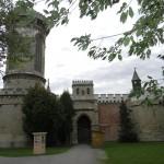 Neogotisch Slot Franzensburg (Oostenrijk, Laxenburg) [Foto: Hetty Wilming]