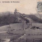 Kalkberg met cascade en chalet, Park De Naeyer, (Antwerpen-Be, Willebroek), ca. 1900