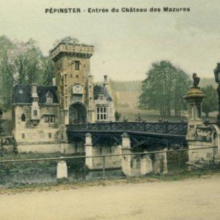 Entree Poortgebouw, Chateau des Mazures (Pepinster, Luik-Be)